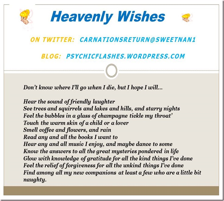 Heavenly Wishes 090715